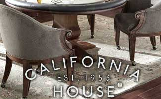California House Game Table Chairs