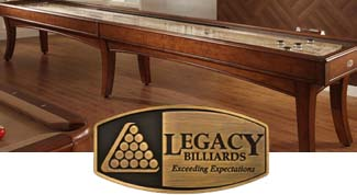 Legacy Billiards Shuffleboards