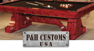 P&H Custom USA logo