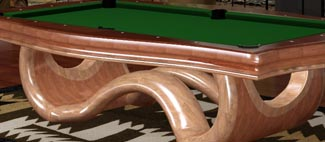 Triangle Platinum 2525 Pool Tables