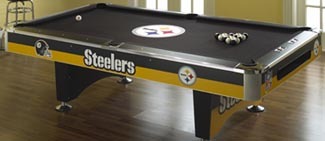 NFL/MLB Team Logo Pool Tables