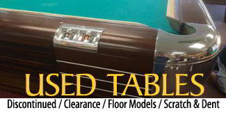 Used Pool Tables