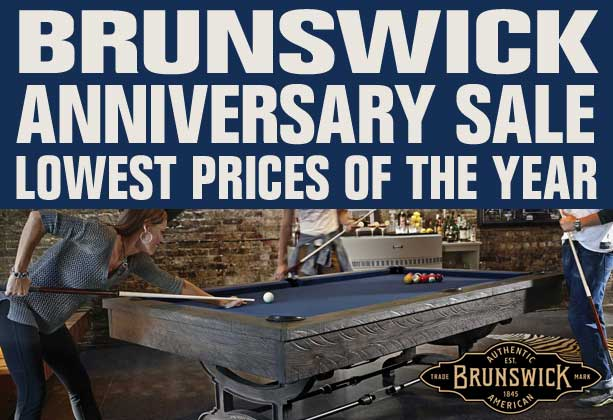 Brunswick Anniversary Sale - Lowest Prices of the Year