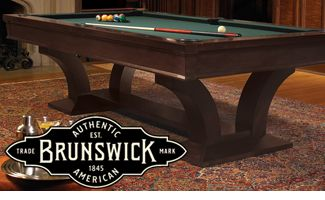 Brunswick Pool Tables Brunswick Billiards Table Triangle Billiards - Brunswick dunham pool table