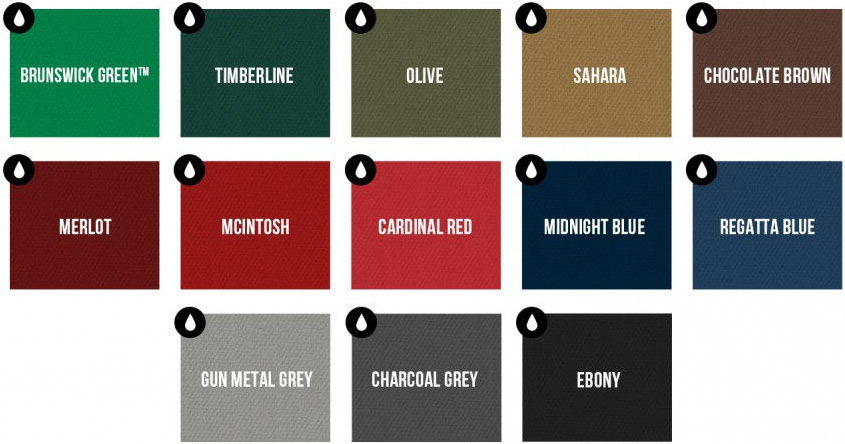 Brunswick Centennial Cloth colors