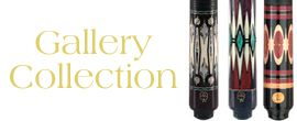 McDermott Gallery Collection Limited Edition Cues