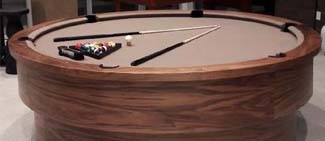 Round Pool Tables
